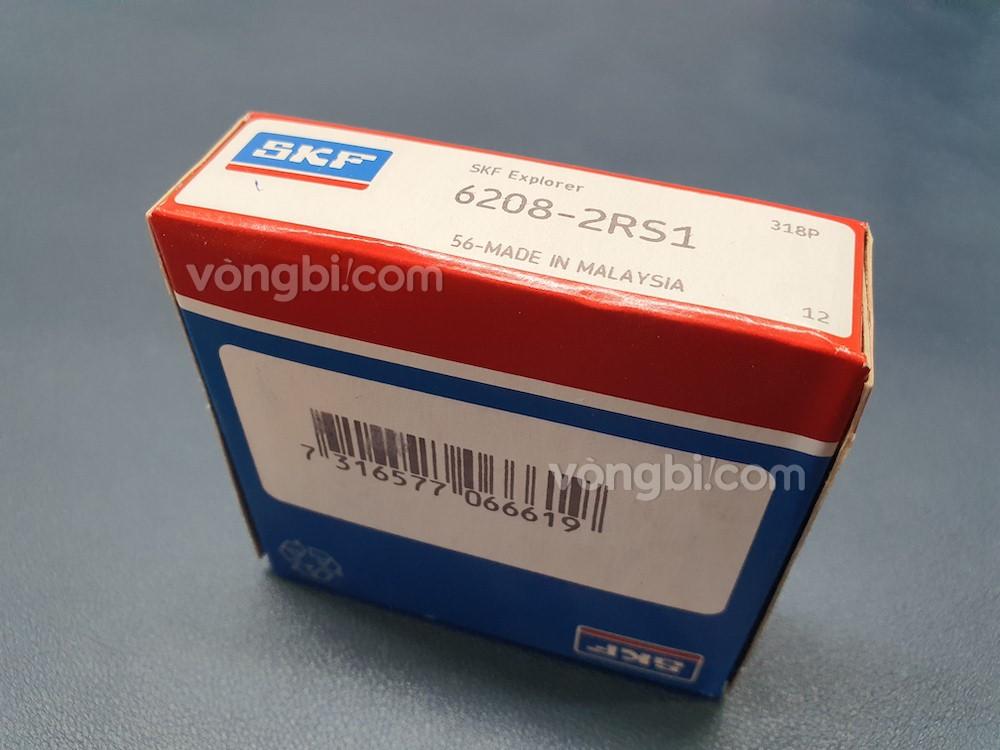 Vòng bi bạc đạn 6208-2RS1 SKF chính hãng