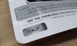 Cách  phân biệt và kiểm tra vòng bi xe máy SKF chính hãng