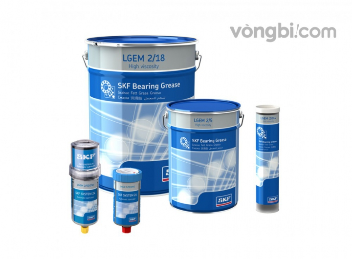 LGEM 2, Mỡ EP công nghiệp chính hãng SKF