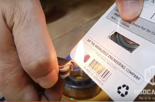Cách kiểm tra vòng bi xe máy SKF Enduro và Genio chính hãng